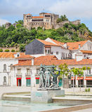 The Leiria Castle Stock Images