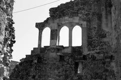 Leiria Castle Stock Photo
