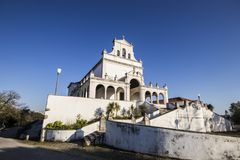 Leiria, Portugal. The Santuario de Nossa Senhora da Encarnacao Sanctuary of Our Lady of the Incarnation Royalty Free Stock Images