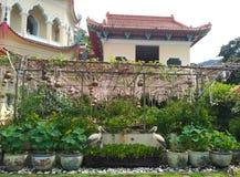 Leiser Garten stockbild