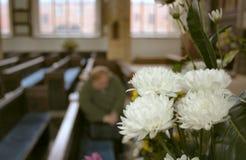 Leises Gebet Stockfoto