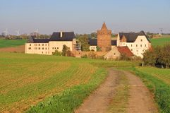 Leisnig castle Mildenstein Stock Images