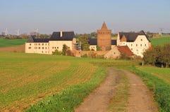 Leisnig-Schloss Mildenstein Stockbilder