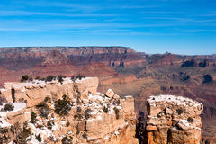 Leiste am Grand Canyon Lizenzfreies Stockfoto
