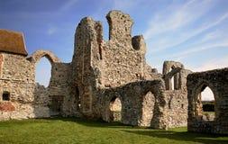 Leiston Abbey Suffolk. Ruins of Leiston Abbey Suffolk England Stock Image