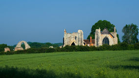 LEISTON, SUFFOLK/UK - MAY 25 : The Ruins of Leiston Abbey in Lei Royalty Free Stock Photography
