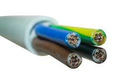 Leistung cable1 Lizenzfreie Stockfotografie