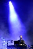 Leistung der Freigabe (englisches Duo der elektronischen Musik) an Ton-Festival 2014 Heinekens Primavera (PS14) Stockbilder