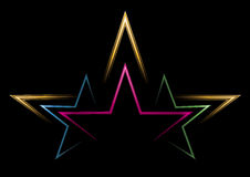 Leistung der Sterne Lizenzfreies Stockfoto