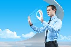 Leistung der zukünftigen Technologien Stockbild
