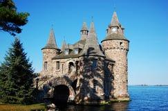 Leistung-Haus des Boldt Schlosses in tausend Inseln, NY lizenzfreies stockfoto