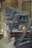Leistunggeneratoren am Hooverdamm Stockbilder