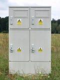 Leistungs-Meter-Kasten Lizenzfreies Stockbild