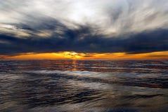 Leistungsfähiger Sonnenaufgang Stockfotografie