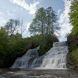 Leistungsfähiger Wasserfall Lizenzfreies Stockbild