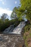 Leistungsfähiger Wasserfall Stockfoto