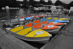 Leisure boats Royalty Free Stock Image
