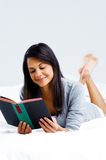 Leisure book woman Royalty Free Stock Photos
