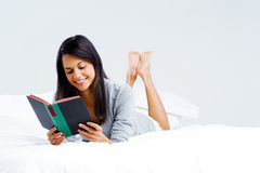 Leisure book woman Stock Images