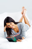 Leisure book woman Royalty Free Stock Photography