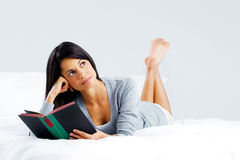 Leisure book woman Stock Photos