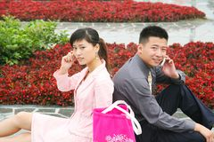 Leisure couple Royalty Free Stock Photo