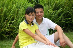 Leisure couple Stock Images