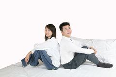 Leisure couple Royalty Free Stock Image