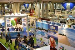 Leisure Fair, travel agencies Royalty Free Stock Image