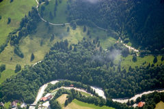 Leisure Flight at Allgau, Bavaria, Germany Stock Image