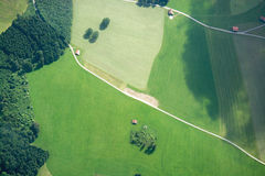 Leisure Flight at Allgau, Bavaria, Germany Stock Images