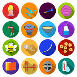 Leisure, hobbies, cosmetology and other web icon. Leisure, hobbies, cosmetology and other  icon in flat style.thermometer, industry, trade, icons in set Stock Photography