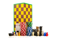 Leisure indoor games Stock Image