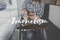 Leisure Journal Journalism Ideas Express Yourself Concept Stock Photo