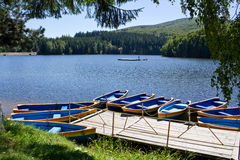 Leisure lake Stock Photography