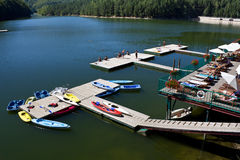 A leisure lake. A laisure lake , Trei Ape (Three Waters Royalty Free Stock Images