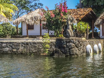 Leisure living at Granada`s Islands, Granada Stock Photography