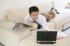 Leisure man Stock Image