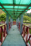 Leisure pavilion and corridor Stock Photos