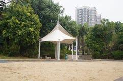 Leisure Pavilion landscape Stock Image