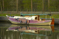Leisure sailing boat Stock Photography