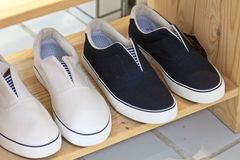 Leisure shoes Stock Photography