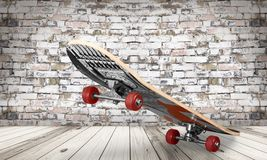 Leisure skateboard Stock Images