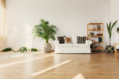 Leisure space in apartment Royalty Free Stock Photo
