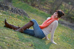 The leisure time in autumn Royalty Free Stock Photo