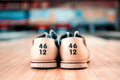 Leisure time in bowling club Royalty Free Stock Image