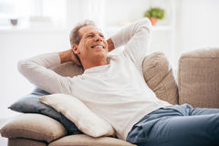 Leisure time at home. Royalty Free Stock Images