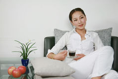 Leisure woman Royalty Free Stock Photography