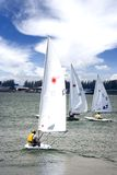 Leisure Yachting. In the afternoon at Lumut, Perak, Malaysia Stock Images