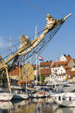 Visby guest harbour Stock Photos